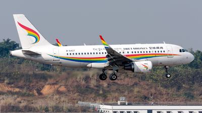 B-6437 - Airbus A319-115 - Tibet Airlines