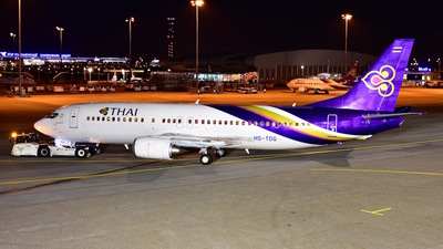 A picture of HSTDG - Boeing 7374D7 - [26614] - © Bhakin Kowong