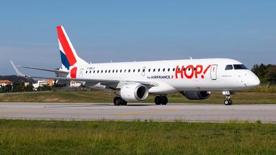 F-HBLA - Embraer 190-100LR - HOP! for Air France