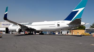 A picture of N563AZ - Boeing 767338(ER)(BDSF) - [25363] - © Juan Carlos Alvarez (MAS Aviation Press)