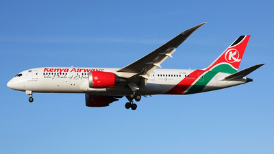 5Y-KZH - Boeing 787-8 Dreamliner - Kenya Airways
