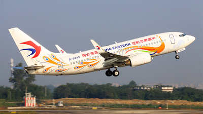 B-5243 - Boeing 737-79P - China Eastern Airlines
