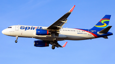 A picture of N628NK - Airbus A320232 - Spirit Airlines - © Christopher M. Owens