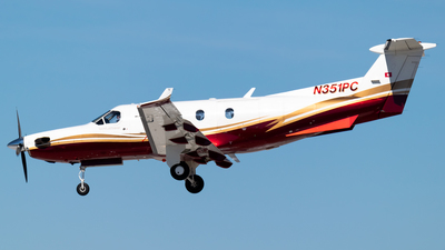 N351PC - Pilatus PC-12/45 - Private