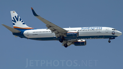 D-ASXH - Boeing 737-8CX - SunExpress Germany