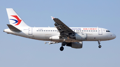 A picture of B6167 - Airbus A319115 - China Eastern Airlines - © XPHNGB