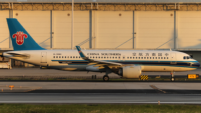 A picture of B306G - Airbus A320251N - China Southern Airlines - © Snake_ZSAM