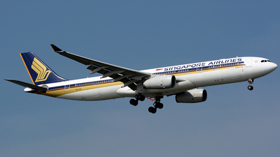 9V-STK - Airbus A330-343 - Singapore Airlines