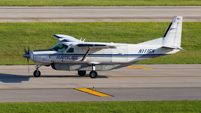 A picture of N1116N - Cessna 208B Super Cargomaster - Martinaire - © GFB