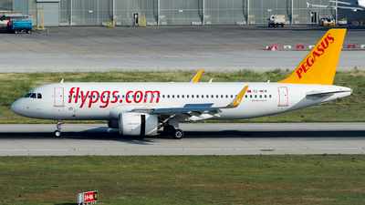 A picture of TCNCN - Airbus A320251N - Pegasus Airlines - © Alp AKBOSTANCI