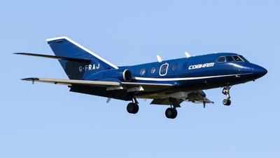 G-FRAJ - Dassault Falcon 20E - Cobham Aviation Services