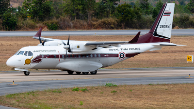28064 - IPTN CN-235-220 - Thailand - Royal Thai Police Wing
