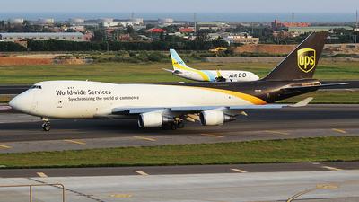 N583UP - Boeing 747-4R7F(SCD) - United Parcel Service (UPS)