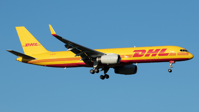 A picture of GDHKT - Boeing 757223(PCF) - DHL - © RAFAL KUKOWSKI