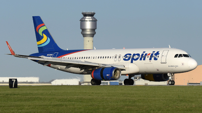 A picture of N638NK - Airbus A320232 - Spirit Airlines - © DJ Reed - OPShots Photo Team