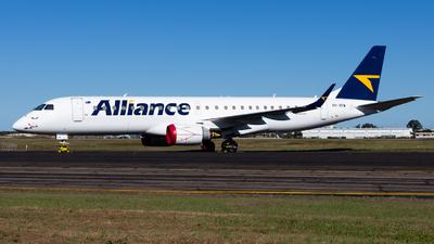 VH-XFM - Embraer 190-100LR - Alliance Airlines