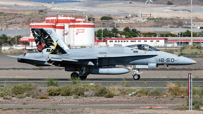 C.15-34 - McDonnell Douglas EF-18A+ Hornet - Spain - Air Force