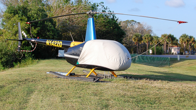 A picture of N1422D - Robinson R44 Raven II - [11450] - © Devin | Charleston.Spotter