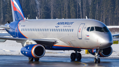 A picture of RA89061 - Sukhoi Superjet 10095B - Aeroflot - © Anna Timofeeva