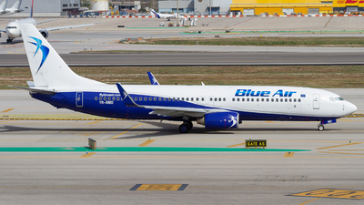 YR-BMD - Boeing 737-85F - Blue Air