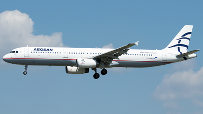 A picture of SXDVZ - Airbus A321231 - Aegean Airlines - © Stefan Bayer