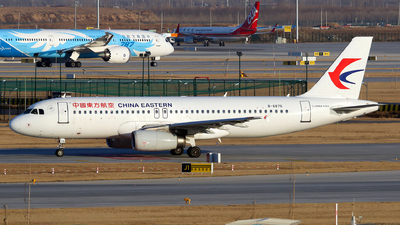 A picture of B6876 - Airbus A320232 - China Eastern Airlines - © yiran