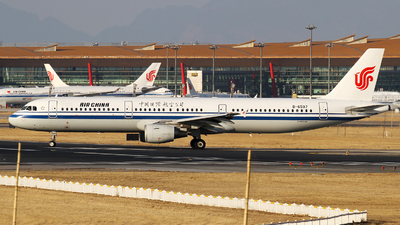 A picture of B6597 - Airbus A321213 - Air China - © M.T