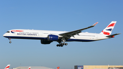 G-XWBD - Airbus A350-1041 - British Airways