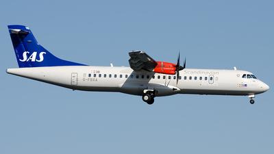 G-FBXA - ATR 72-212A(600) - Scandinavian Airlines (Flybe)