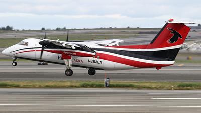 A picture of N883EA - De Havilland Canada Dash 8100 - Ravn Alaska - © Jeroen Stroes