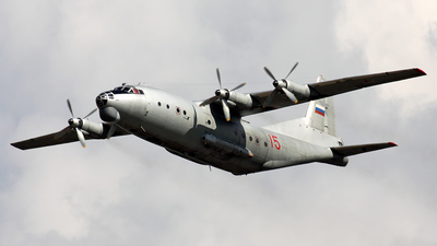 15 - Antonov An-12BK - Russia - Air Force