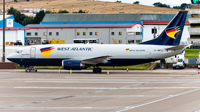 G-JMCU - Boeing 737-301(BDSF) - West Atlantic Airlines