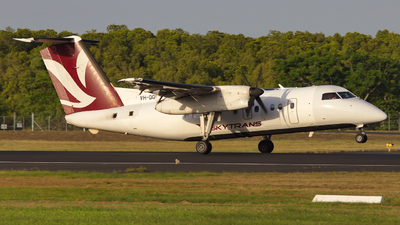 A picture of VHQQG - De Havilland Canada Dash 8100 - Skytrans - © Dave Parer