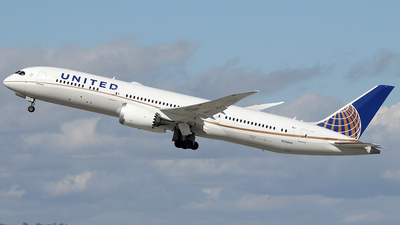 N29968 - Boeing 787-9 Dreamliner - United Airlines