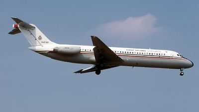 KAF321 - McDonnell Douglas DC-9-32(CF) - Kuwait - Air Force