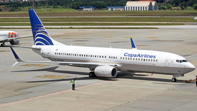 A picture of HP1834CMP - Boeing 7378V3 - Copa Airlines - © Filipi Souza