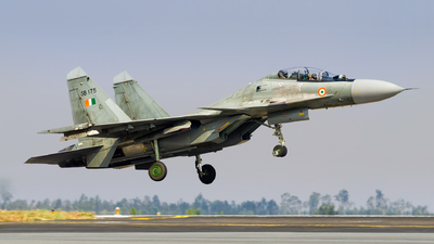 SB175 - Sukhoi Su-30MKI - India - Air Force