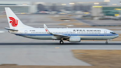 B-5486 - Boeing 737-89L - Beijing Airlines