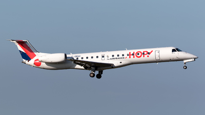 F-GRGC - Embraer ERJ-145EU - HOP! for Air France