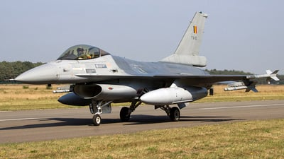 FA-110 - General Dynamics F-16AM Fighting Falcon - Belgium - Air Force