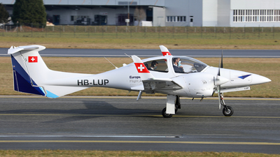 HB-LUP - Diamond DA-42 Twin Star - European Flight Academy
