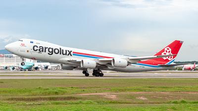 A picture of LXVCH - Boeing 7478R7(F) - Cargolux - © syafiqkuzairy