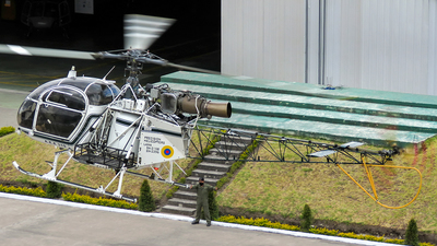 AEE-319 - Aérospatiale SA 315B Lama - Ecuador - Army