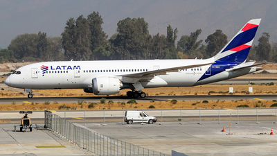 CC-BBD - Boeing 787-8 Dreamliner - LATAM Airlines