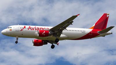 N411AV - Airbus A320-214 - Avianca