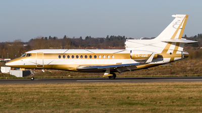 LX-AMB - Dassault Falcon 7X - Global Jet Luxembourg