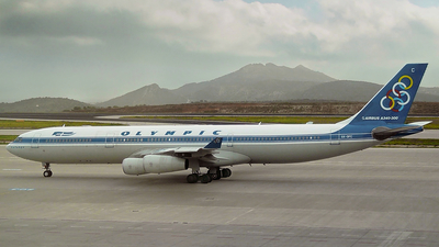 SX-DFC - Airbus A340-313X - Olympic Airways