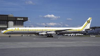 EC-DZA - Douglas DC-8-61 - Canáfrica Transportes Aéreos