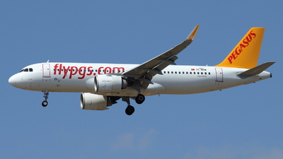TC-NCM - Airbus A320-251N - Pegasus Airlines