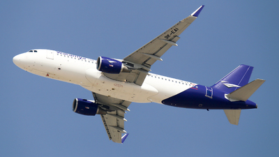 9K-EAI - Airbus A320-214 - Wataniya Airways